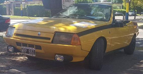 Auto Renault Fuego GTX Cabrio