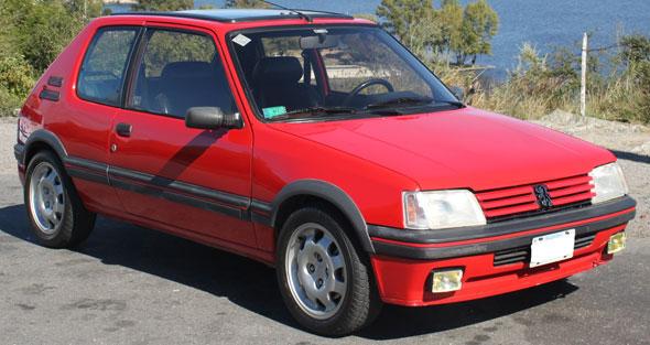 Auto Peugeot 205