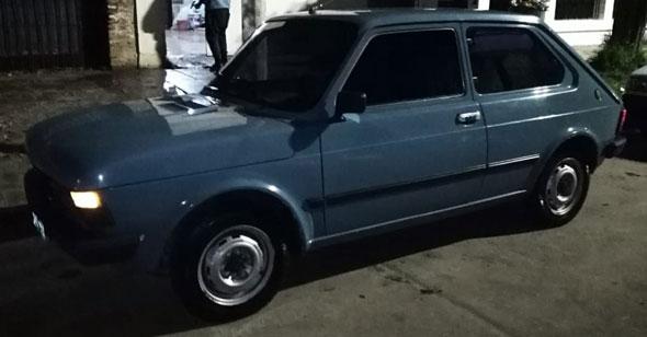 Fiat 147 CL5 Modelo 1984