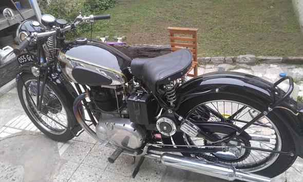Moto BSA A7