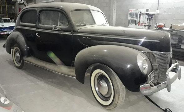 Auto Ford De Luxe 1940