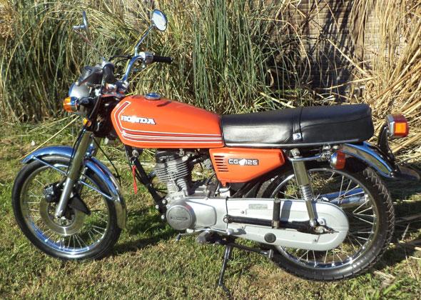 Honda CG 125 Motorcycle