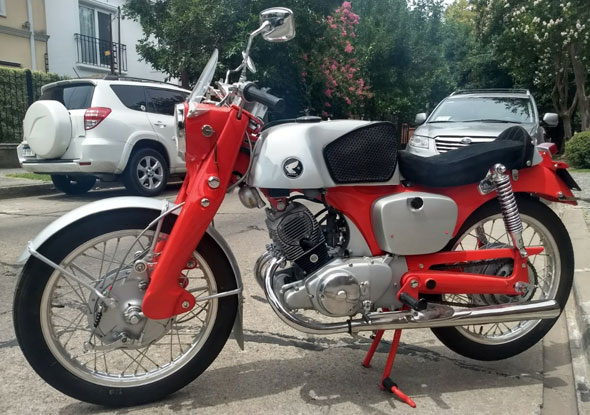 Moto Honda Benly CB 92 Super Sport