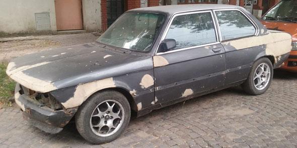 Auto BMW 316 1981