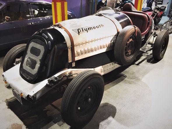 Auto Plymouth Baquet 1936