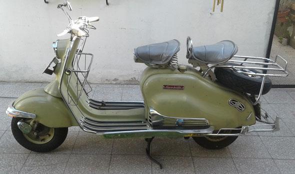 Moto Siambretta 125LD