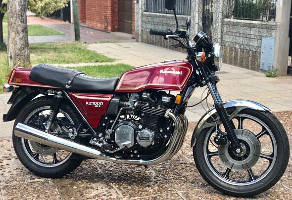 Kawasaki KZ 1000 MKII Motorcycle