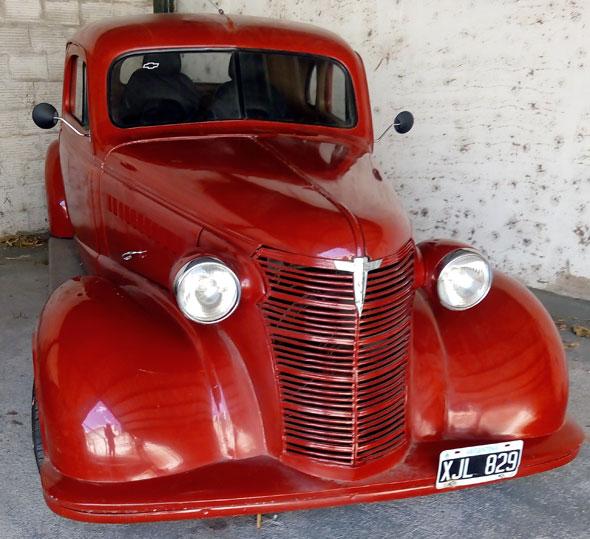 Auto Chevrolet 1938 Coupé