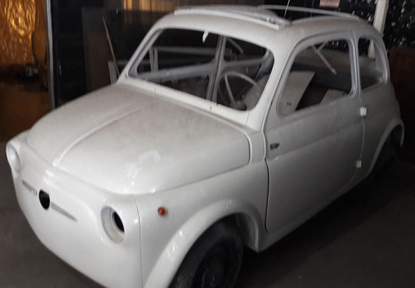 Auto Fiat 500 1957