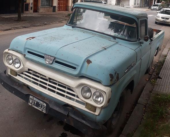 Ford F100 1959 Loba