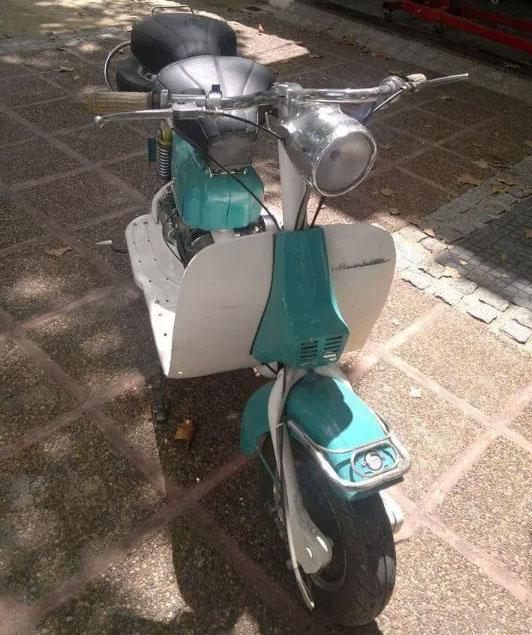 Moto Siambretta AV 175 1964
