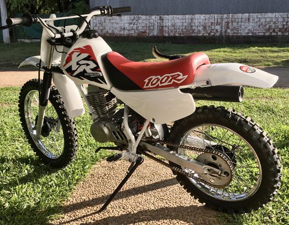 Honda XR 100R 1994 Motorcycle