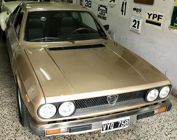 Auto Lancia Beta 2000 Coupé