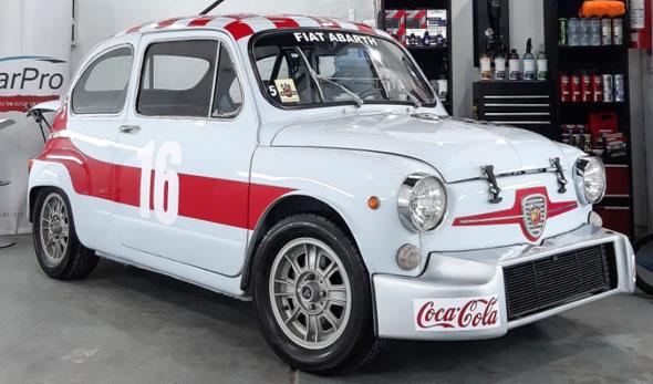 Auto Fiat 600 Abarth