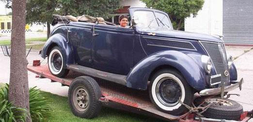 Auto Ford Doble Phaeton Convertible