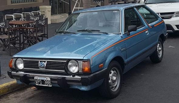 Auto Subaru SRX Leone