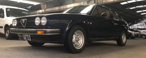 Alfa Romeo Alfasud Sprint 1979