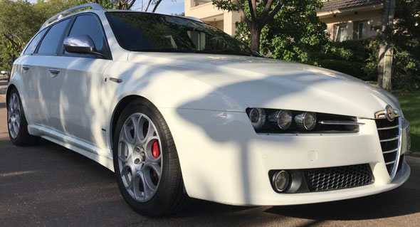 Alfa Romeo 159 TI Sportwagon