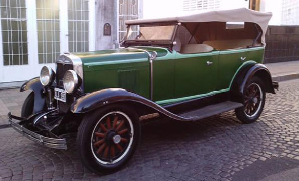 Auto Chevrolet Doble Phaeton 1928