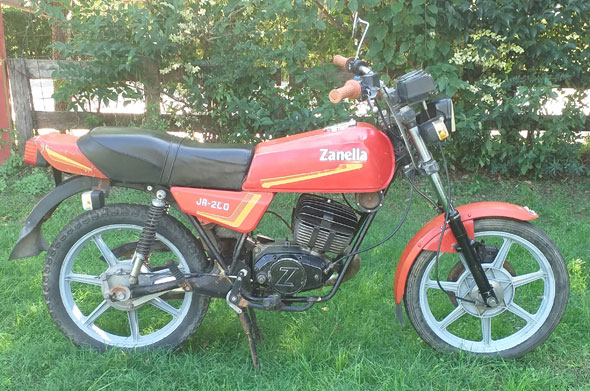 Zanella JR 200 Motorcycle