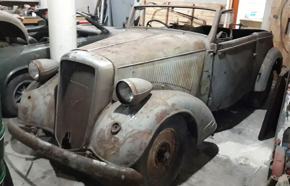 Auto Opel 1935 Supersix
