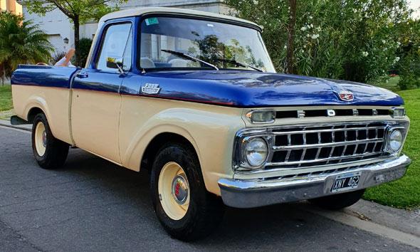 Ford F100 V8 Fase 1