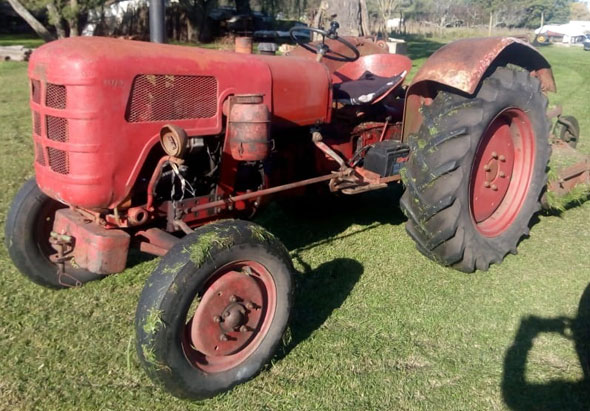 Fahr Tractor 1963