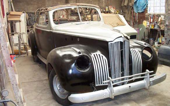 Packard Coupé Convertible