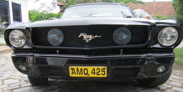 Ford Mustang 1964 1/2 Black