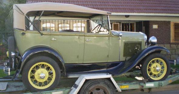 Ford Doble Phaeton Convertible