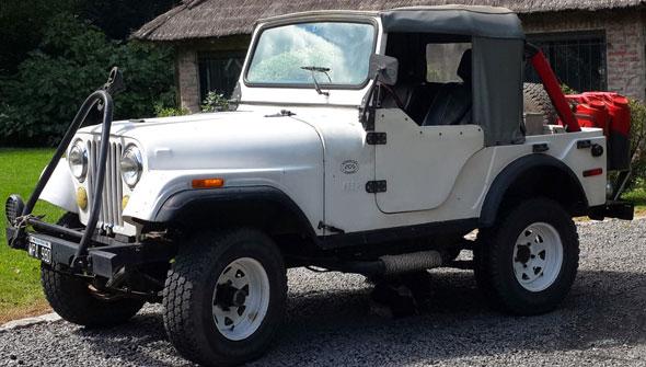 Jeep IKA 4x4 Corto 1958