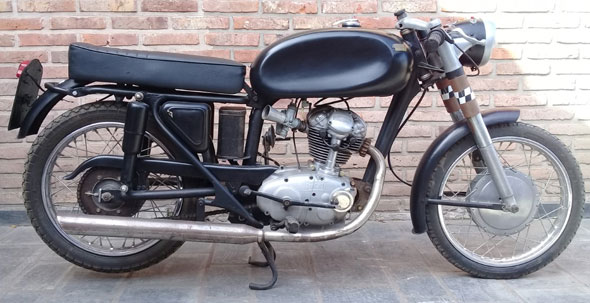 Moto Ducati 125 Sport