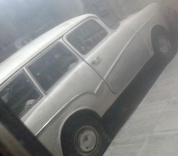 Isard 700 Kombi 1962