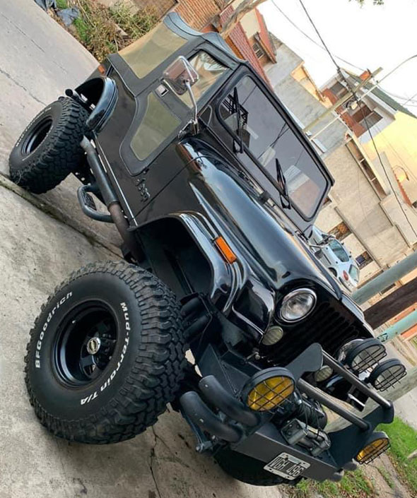 Auto Jeep AFF