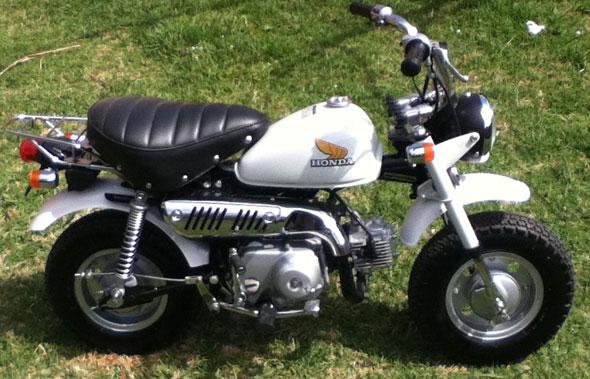 Moto Honda Z50J