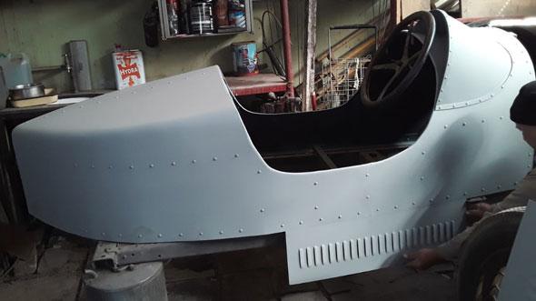 Ford A Colita De Bote