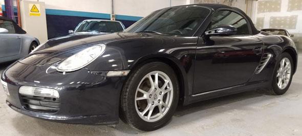 Auto Porsche Boxster 2.7 2007