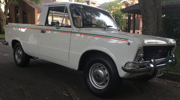 Auto Fiat 125 Multicarga