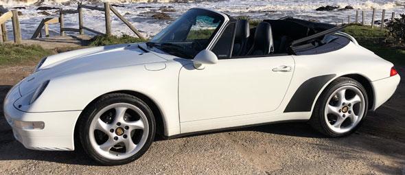 Porsche 911 (993) C2 Cabrio