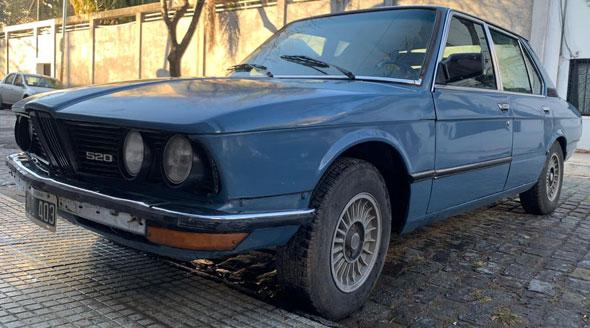 Auto BMW 518