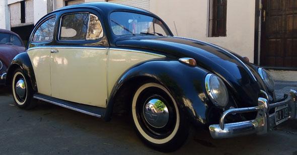Volkswagen Escarabajo Oval 1956