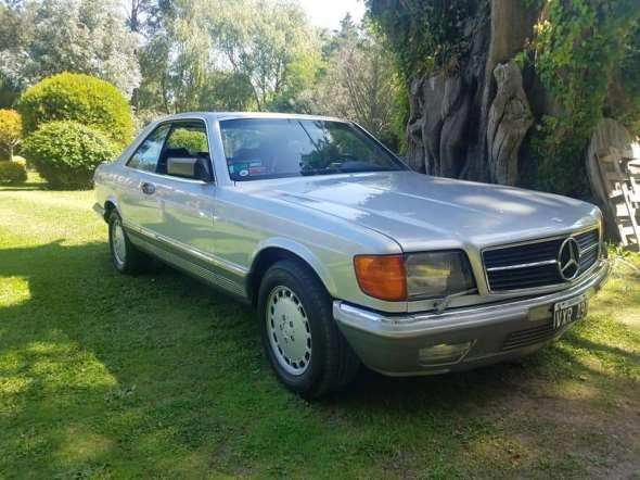 Mercedes Benz 500 SEC 1986