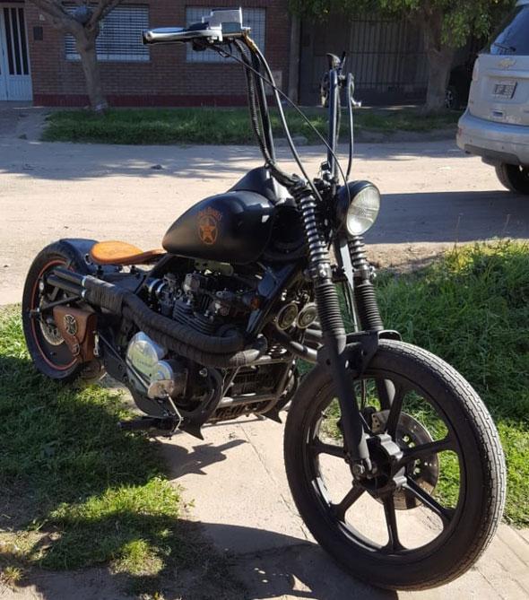 Kawasaki Bobber KZ 1000J