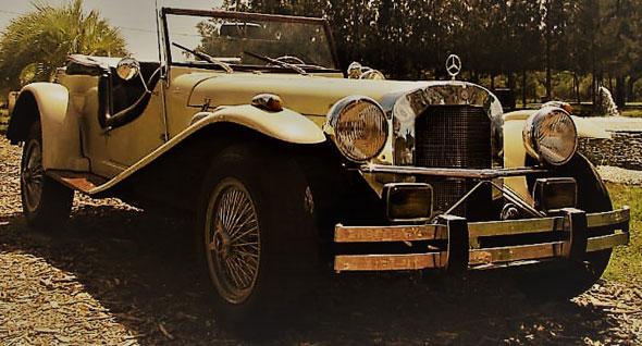 AFF Réplica Mercedes Benz Type SS 1929