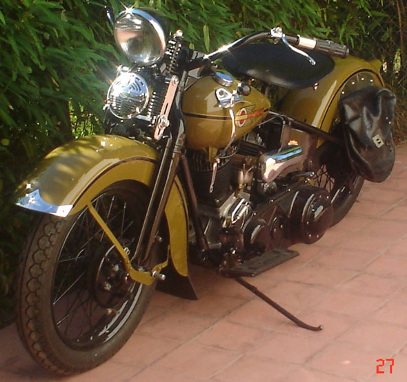 Harley Davidson U1200 1938