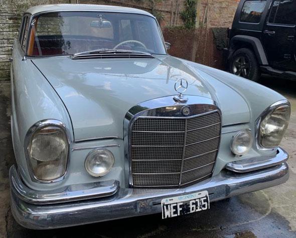 Mercedes Benz 220 S 1961