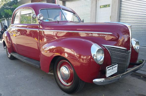 Mercury Coupé 1940