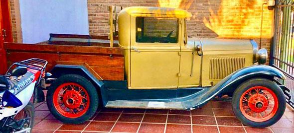 Ford A 1930 Camioneta