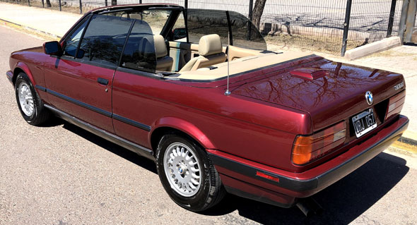 BMW 318IS Cabriolet