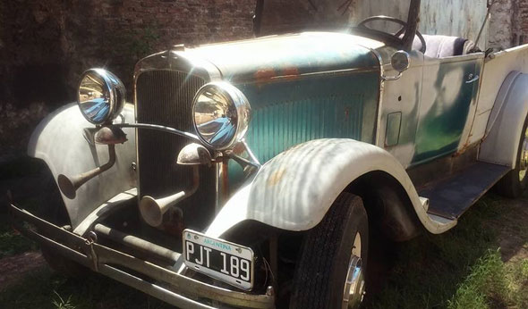 Dodge Brothers 1929 Pick Up Convertiblee